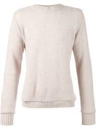 свитер с отделкой в рубчик The Elder Statesman