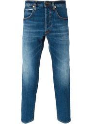 джинсы кроя слим  'Riccardo' +People
