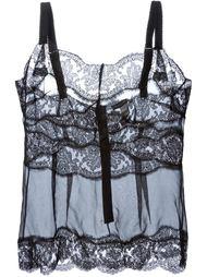 кружевная майка Dolce & Gabbana Underwear