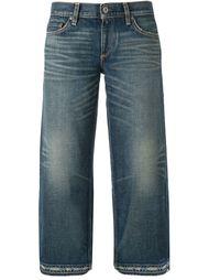 укороченные джинсы с потертой отделкой Simon Miller