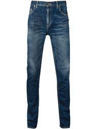 выбеленные джинсы кроя скинни Christian Dada