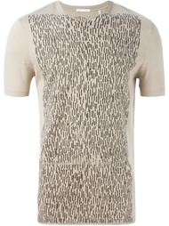 футболка с абстрактным принтом спереди Helmut Lang Vintage