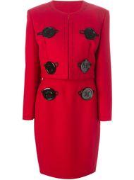 пиджак с юбкой 'Needle'  Moschino Vintage