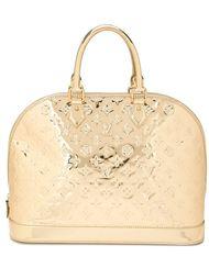 сумка-тоут с монограммным тиснением Louis Vuitton Vintage