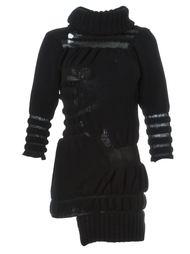 трикотажное платье с рваной отделкой Helen Lawrence
