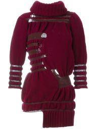 асимметричный свитер с отворотной горловиной Helen Lawrence