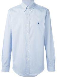 рубашка в тонкую полоску Ralph Lauren