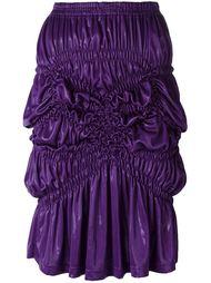 юбка со сборками Issey Miyake Vintage