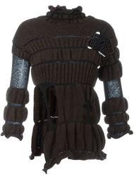 свитер с вырезными деталями Helen Lawrence