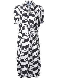 платье с графическим принтом Chalayan