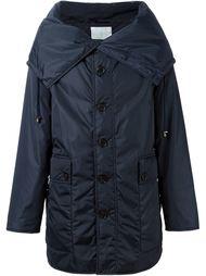 пальто на пуговицах с капюшоном  Société Anonyme