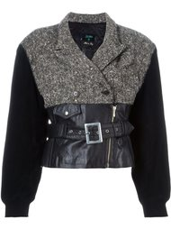 байкерская куртка 'Forbidden Gaultier'  Jean Paul Gaultier Vintage