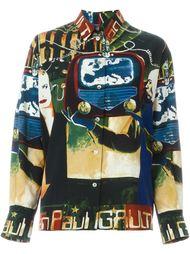 рубашка 'L'Europe De L'Avenir' Jean Paul Gaultier Vintage