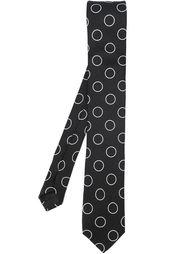 галстук с принтом  Dolce & Gabbana