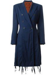 пальто 'Adam Et Eve Rastas D'Aujoud' Hui' Jean Paul Gaultier Vintage