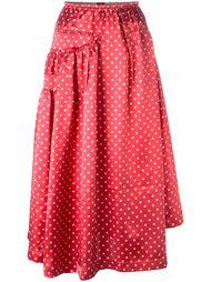 юбка с узором в горох Comme Des Garçons Vintage