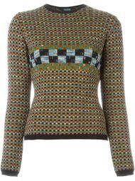 декорированный свитер 'Passes Enfuis Souvenirs Ainsi Passe Pes Temps' Jean Paul Gaultier Vintage