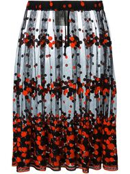 тюлевая юбка с вышивкой Comme Des Garçons Vintage