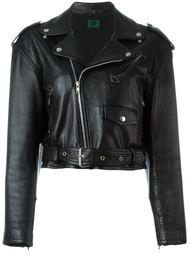 укороченная байкерская куртка 'Les Poupées' Jean Paul Gaultier Vintage