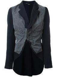 пиджак с контрастным шлейфом Comme Des Garçons Vintage