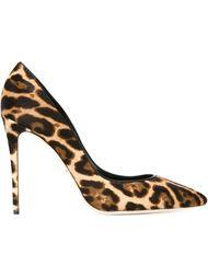 туфли с леопардовым принтом Dolce & Gabbana