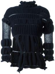эластичный свитер с вырезными деталями Helen Lawrence