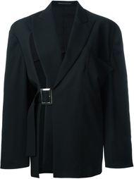 пиджак с разрезом и пряжкой сбоку Yohji Yamamoto Vintage