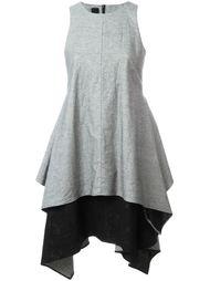 многослойное платье без рукавов Forme D'expression