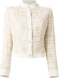 укороченный пиджак Jean Louis Scherrer Vintage