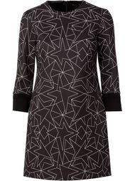 платье-шифт с принтом звезд Neil Barrett