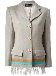 пиджак с бахромой  Jean Louis Scherrer Vintage
