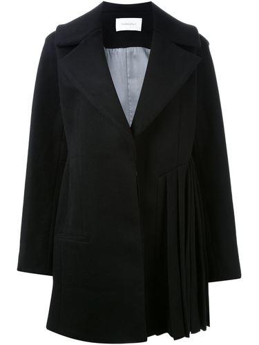 пальто с плиссированным подолом Thomas Tait