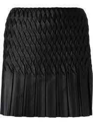 плиссированная мини-юбка Jay Ahr