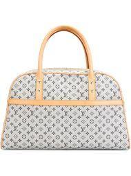 монограммная сумка-тоут из денима Louis Vuitton Vintage