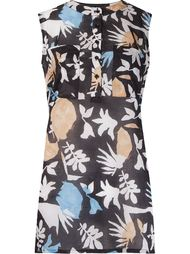 abstract print blouse Andrea Marques