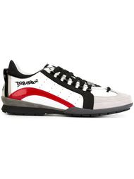 кроссовки с полосками Dsquared2