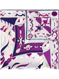 шарф с абстрактным принтом Emilio Pucci Vintage