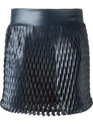 мини-юбка с вырезными деталями Jay Ahr