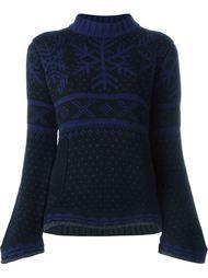 свитер с расклешенными рукавами Sacai Luck