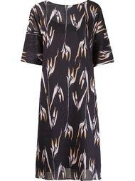 платье с абстрактным принтом   Andrea Marques