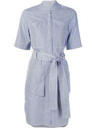 платье-рубашка с поясом Adam Lippes