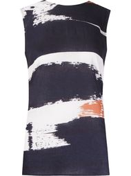 abstract print tank top Andrea Marques