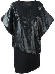 платье с контрастным слоем Jay Ahr