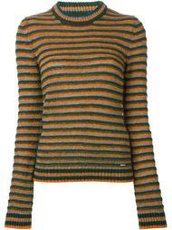полосатый свитер с круглым вырезом Diesel