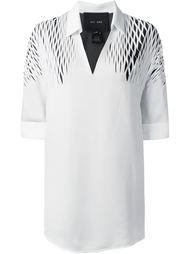 рубашка с вырезными деталями Jay Ahr