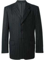 пиджак в тонкую полоску Moschino Vintage