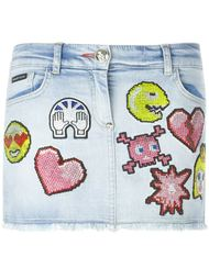 джинсовая юбка 'Better Way'  Philipp Plein