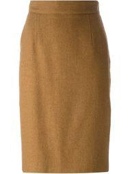 классическая юбка-карандаш Christian Dior Vintage