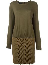 Платье-джемпер с панелью в стиле оригами Jay Ahr