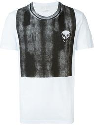 футболка с потертой панелью Alexander McQueen
